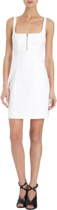 Alexander Wang Square Neck Fitted Dress