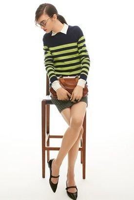 Nordstrom Miss Wu Crêpe de Chine Blouse Exclusive)