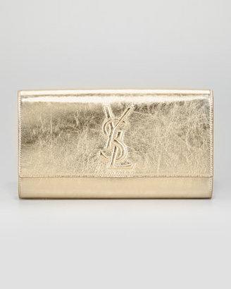 Yves Saint Laurent Belle De Jour Clutch Bag, Gold