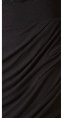 Helmut Lang HELMUT Draped Skirt