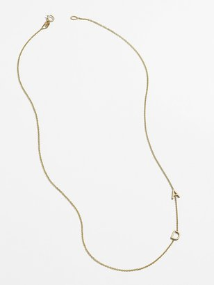 BaubleBar Maya Brenner Asymmetrical Character Necklace