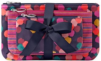 Fossil 'Key-Per' Coated Canvas Pouches (Set of 3)