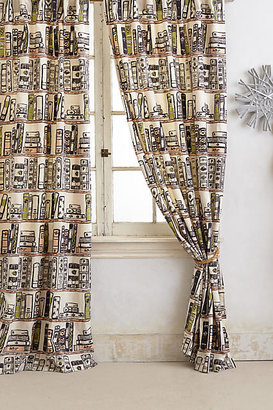 Anthropologie Jacketed Spines Curtain