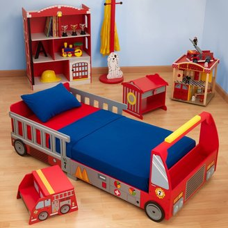 Kid Kraft Fire Truck Toddler Bed
