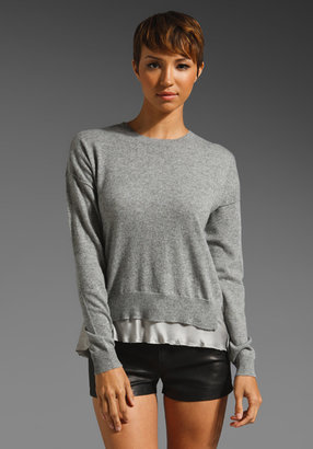 Rebecca Taylor Combo Sweater
