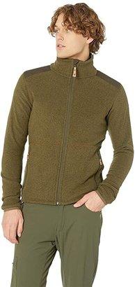 Fjallraven Sten Fleece (Dark Navy) Men's Coat