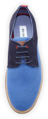 Ben Sherman Mayfair Lace-Up Derby, Navy
