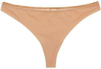 Wacoal Respect Almond Embroidered Thong