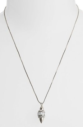 Vince Camuto 'Diamonds in the Sky' Baguette Crystal Pendant Necklace