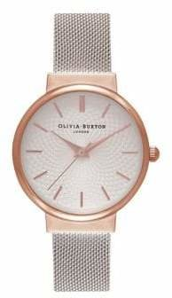 Olivia Burton The Hackney Rose Goldtone Watch