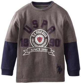 U.S. Polo Assn. Boys 8-20 Graphic T-Shirt