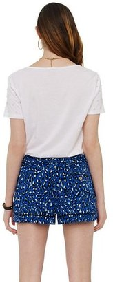 Juicy Couture Bengal Print Piping Short