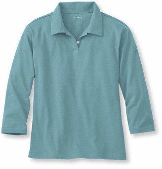 L.L. Bean (エルエルビーン) - サタデーTシャツ、7分丈袖 ポロシャツ