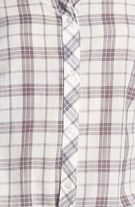 Rubbish Plaid Collared Shirt (Juniors) (Online Only)
