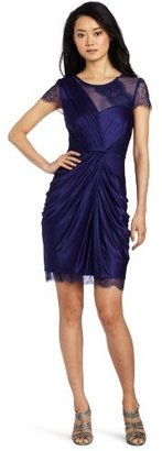 BCBGMAXAZRIA Women's Mercedes Knit Evening Dress