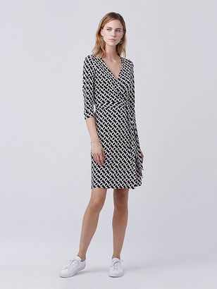 New Julian Two Silk Jersey Wrap Dress $398 thestylecure.com
