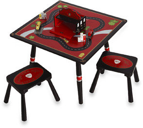 Levels of Discovery Firefighter Table and Stool Set