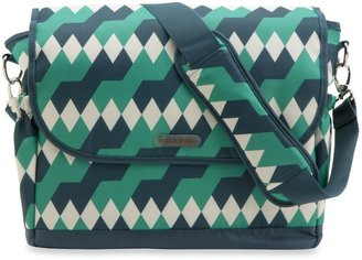 Timi & Leslie 2013 Emerald Lagoon Messenger Diaper Bag