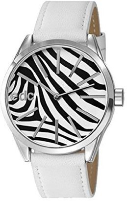 edc by esprit Women's EE100132020 Wild Life Disco White Watch $43.80 thestylecure.com