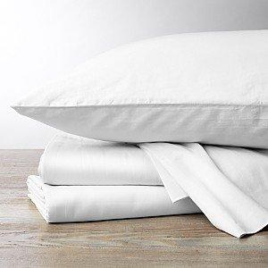 Coyuchi Organic Cotton Sateen 300TC Sheet Set, Queen