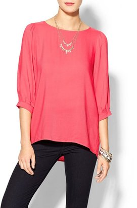 Finders Keepers Everly Clothing Textured Blouse