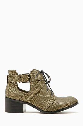 Nasty Gal Shoe Cult Copperhead Ankle Boot