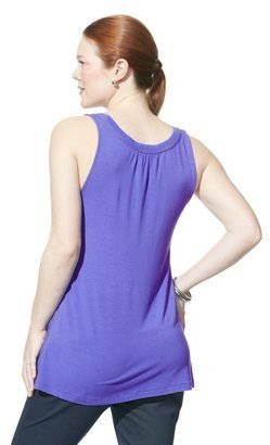 Liz Lange for Target® Maternity Twill-Piping Tank - Assorted Colors