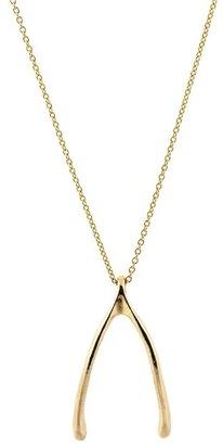 Belle Noel by Kim Kardashian Wishbone Necklace