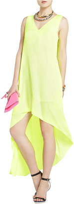 BCBGMAXAZRIA Avery Asymmetrical Dress