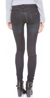 Rag and Bone The Bomber Legging Jeans