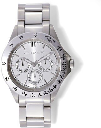Vince Camuto Silver Chronograph Wat