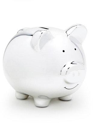 Pearhead Piggy Bank - Silver