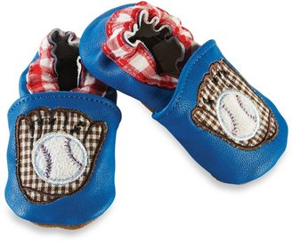 Mud Pie Size 0-6M Baseball Shoes in Blue