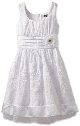 My Michelle Girls 7-16 Swiss Dot Printed Dress