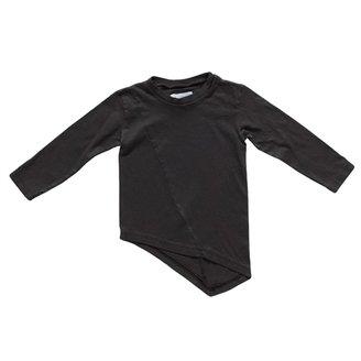 Nununu - Long Sleeve Penguin Shirt - Black