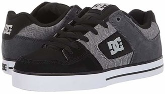DC SE (Black/Grey/White) Men's Skate Shoes
