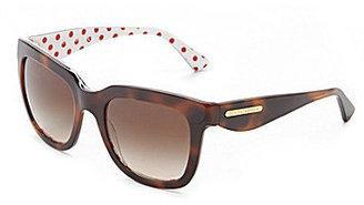 Dolce & Gabbana Polka Dot Square Sunglasses