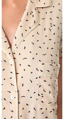 Eberjey Free Bird Short PJ Set