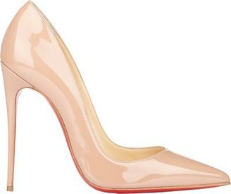 Christian Louboutin Women's So Kate Pumps-NUDE $675 thestylecure.com
