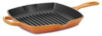Le Creuset Signature Cast-Iron Square Grill Pan