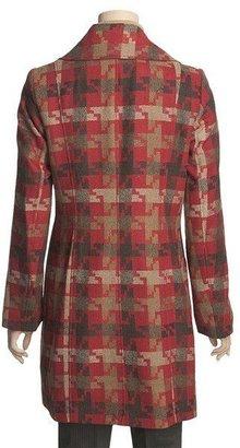 Tribal Sportswear Houndstooth Coat - Cotton (For Women)