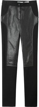 Alexander Wang Leather Combo Pants