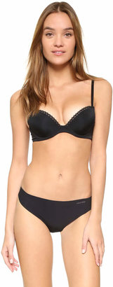 Calvin Klein Underwear Seductive Comfort Customized Lift Bra $44 thestylecure.com