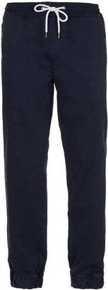 Topman Navy Chino Sweatpants