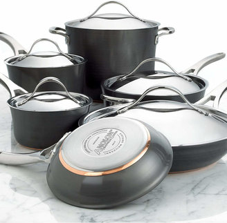 Anolon Nouvelle Hard-Anodized Copper 11 Piece Cookware Set