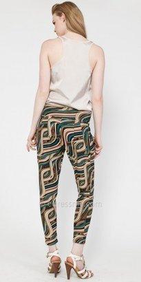 eDressMe Print Harem Pants