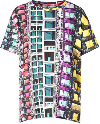 Mary Katrantzou Jersey Printed Erno T-Shirt in Multi