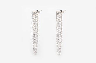 Eddie Borgo Striped Long Spike Stud Earrings