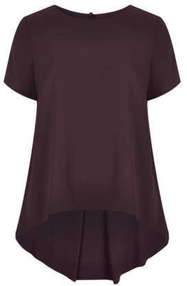 Topshop Formal Stepped Hem Tunic