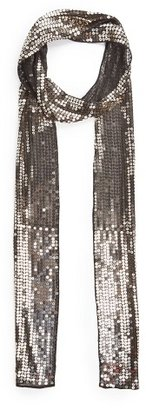 MANGO Outlet Sequined Chiffon Scarf